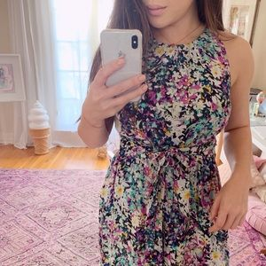 Anthropologie Selena Floral Jumpsuit